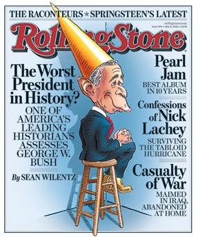 Rolling Stone Bush cover