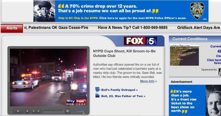 Fox 5 Cop Irony